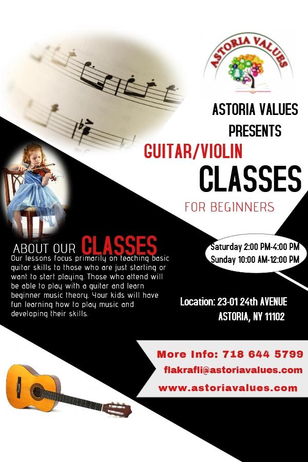 Guitar/Violin Classes